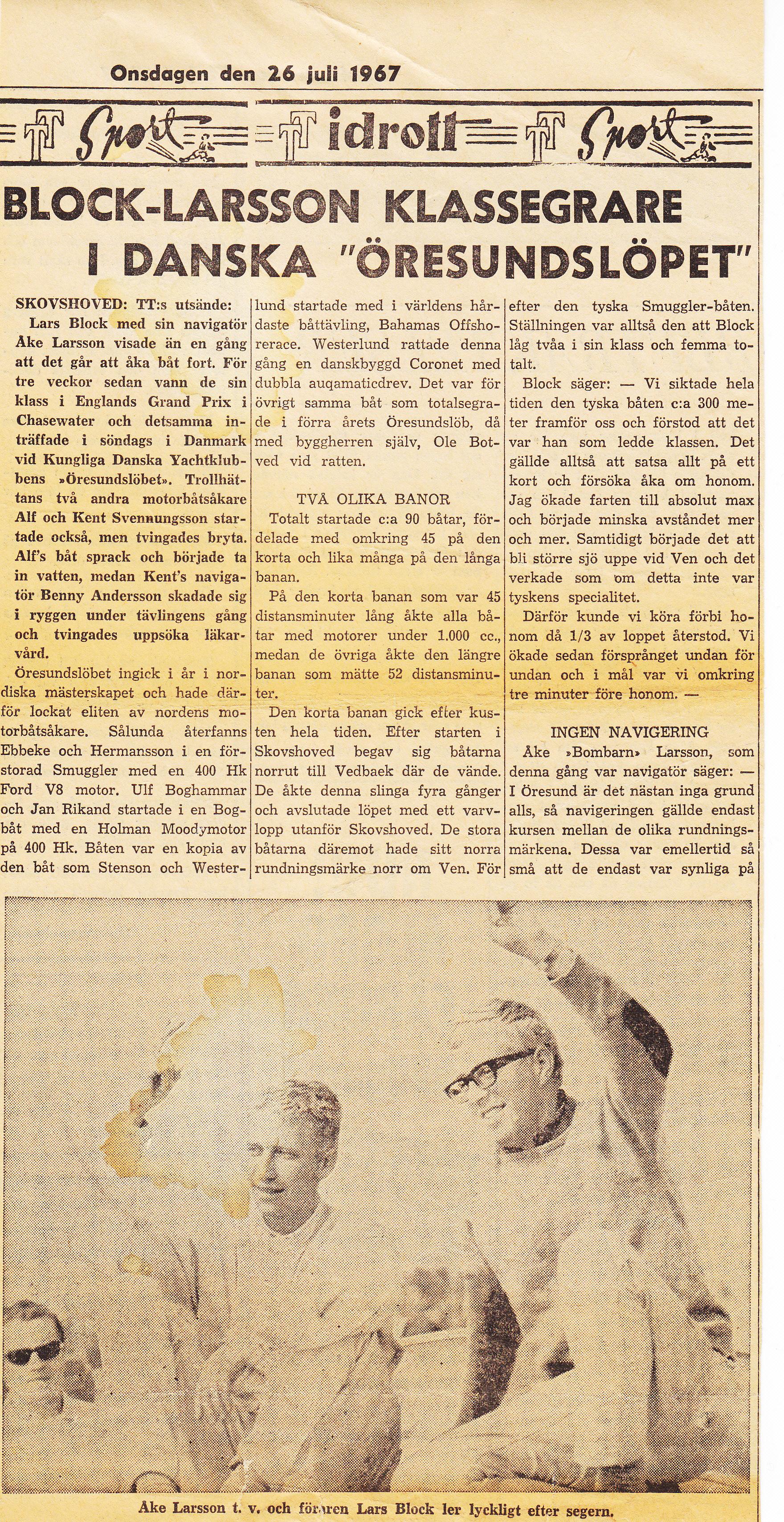 oresundsloppet 1967-2